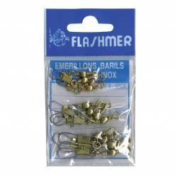 Flashmer Kit Emerillons Baril A Agrafe