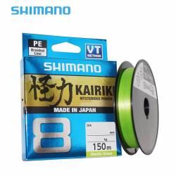 Tresse Shimano Kairiki 150m Verte