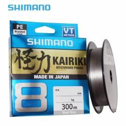 Tresse Shimano Kairiki 300m Grise