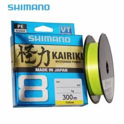Tresse Shimano Kairiki 300m Jaune