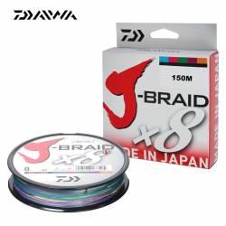 Daiwa J Braid X8 Multicolore 150m
