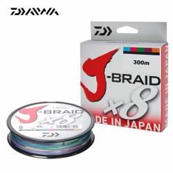 Daiwa J Braid X8 Multicolore 300m