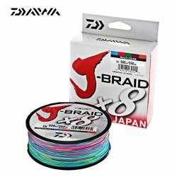 Daiwa J Braid X8 Multicolore 500m