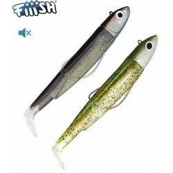 Fiiish Double Combo Black Minnow