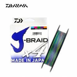Daiwa J Braid X4 Multicolore 150m
