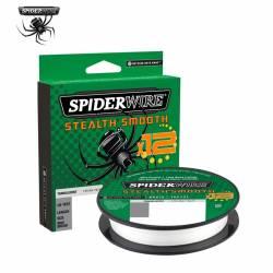 Tresse SpiderWire Stealth Smooth 12 - 150m Translucide