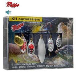 Mepps Kit Carnassiers 6 Cuillers