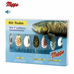 Mepps Kit Truite 7 Cuillers