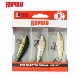 Rapala Kit Truite 3 Poissons Nageurs 5cm
