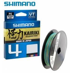 Tresse Shimano Kairiki 4 150m Multicouleurs