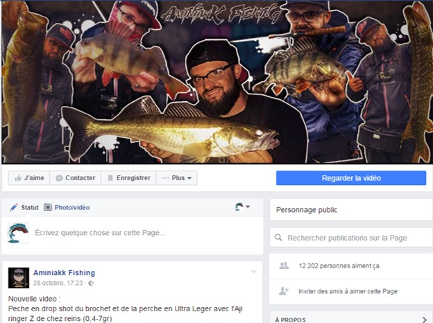 Page Facebook Aminiakk Fishing