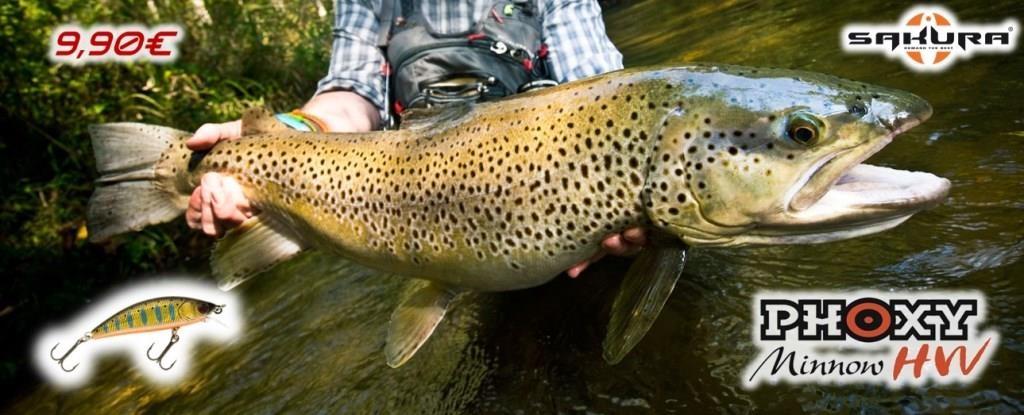 Le Phoxy Minnow HW, un leurre redoutable pour pêcher la truite dans les courants puissants